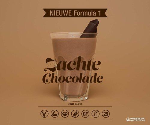 Shakebeker chocolade shake